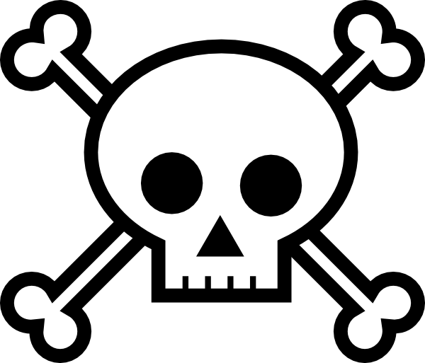Skull And Bones Coloring Pages Clipart Best Skull And Crossbones Coloring Pages