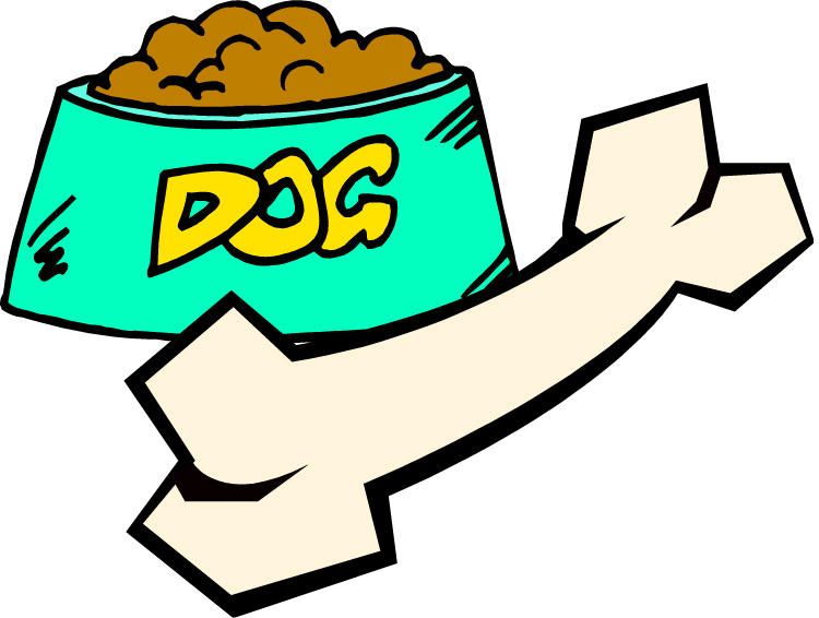 Cartoon dog treats