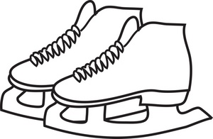 ICE SKATER COLORING PICTURE Â« Free Coloring Pages