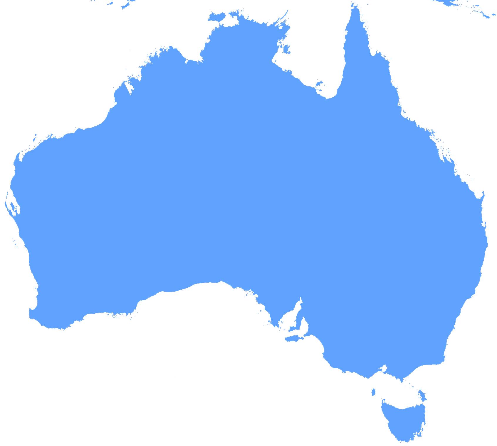 Blank Map Of Australia Mapsof Clipart Best Clipart Best