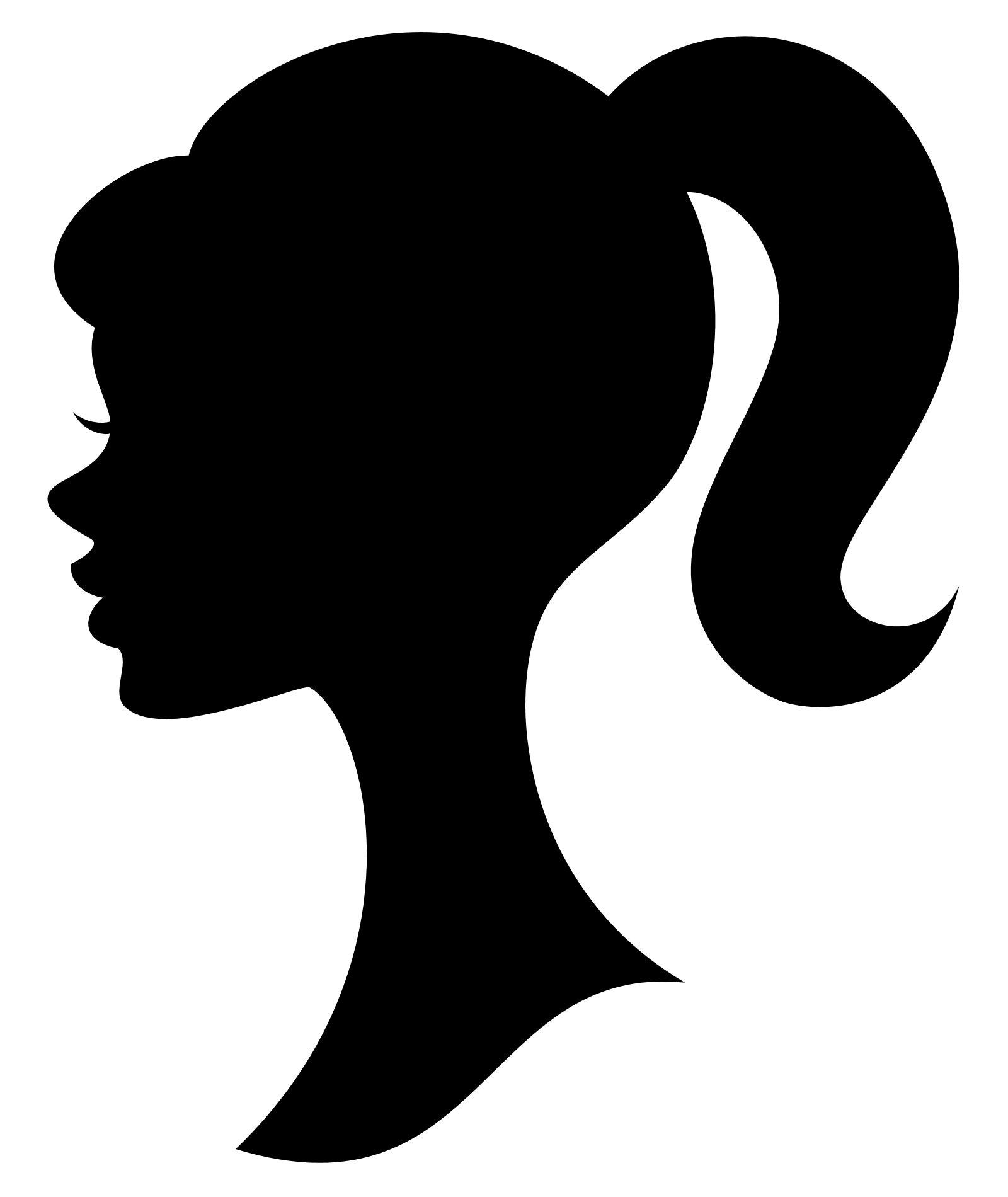 Barbie Silhouette Clipart Best