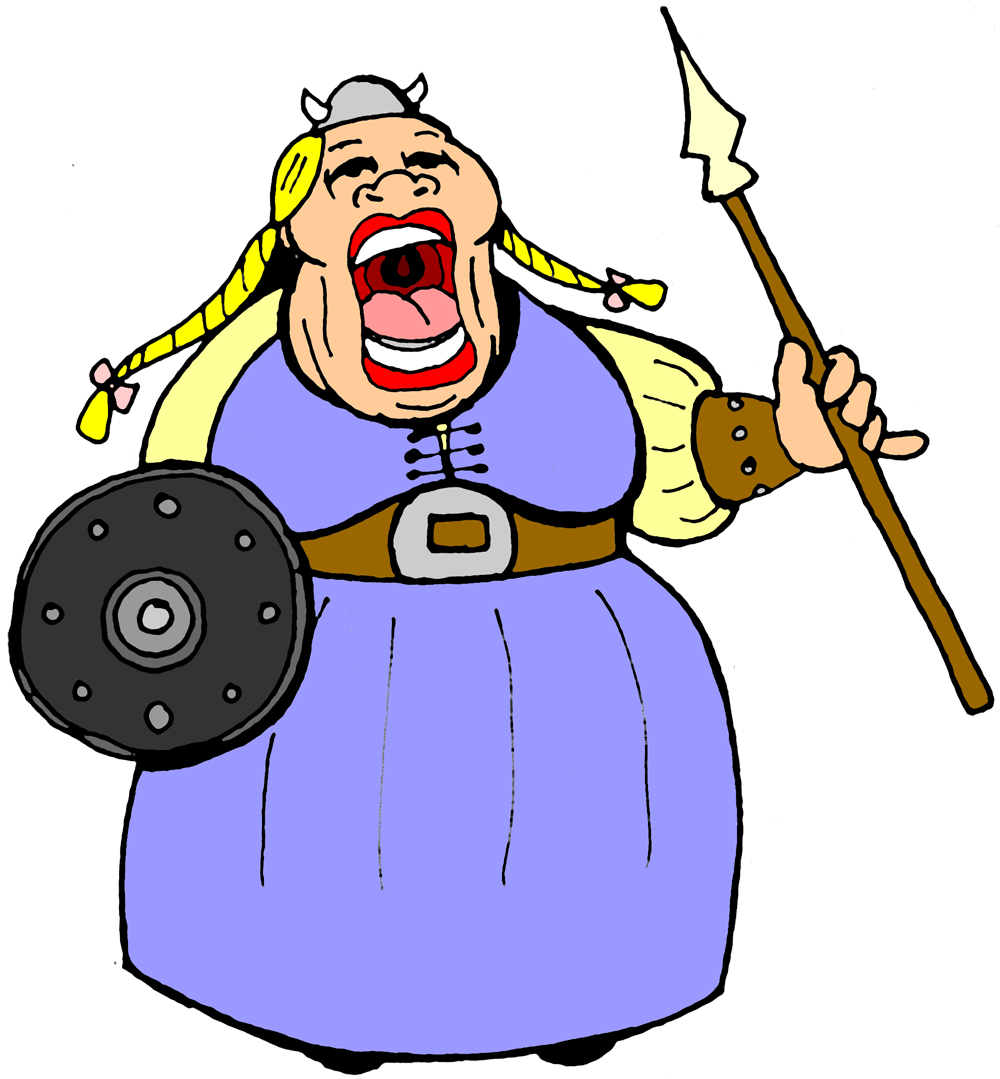 Fat Woman Clipart - ClipArt Best