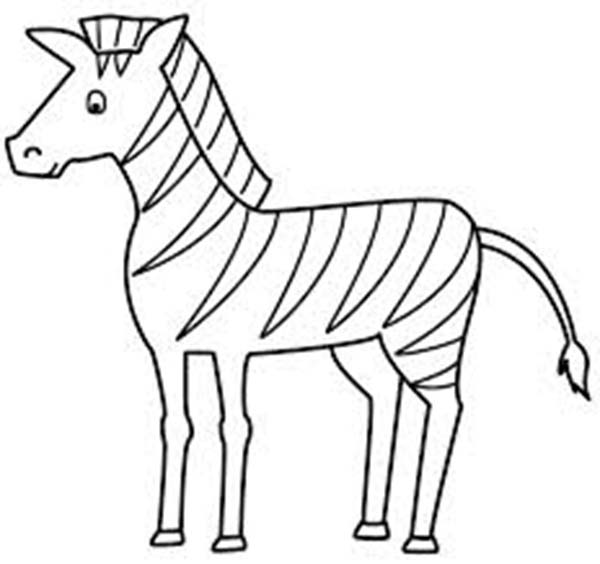 Draw Zebra Clipart Best