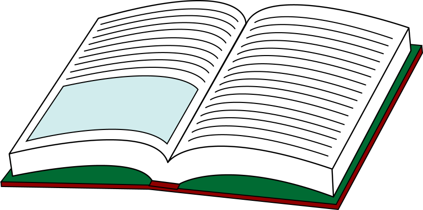 Clip Art Textbook Clipart picture of open book clipart best clipartion com