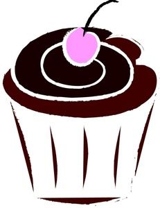 Chocolate Cupcake Clipart Clipart Best