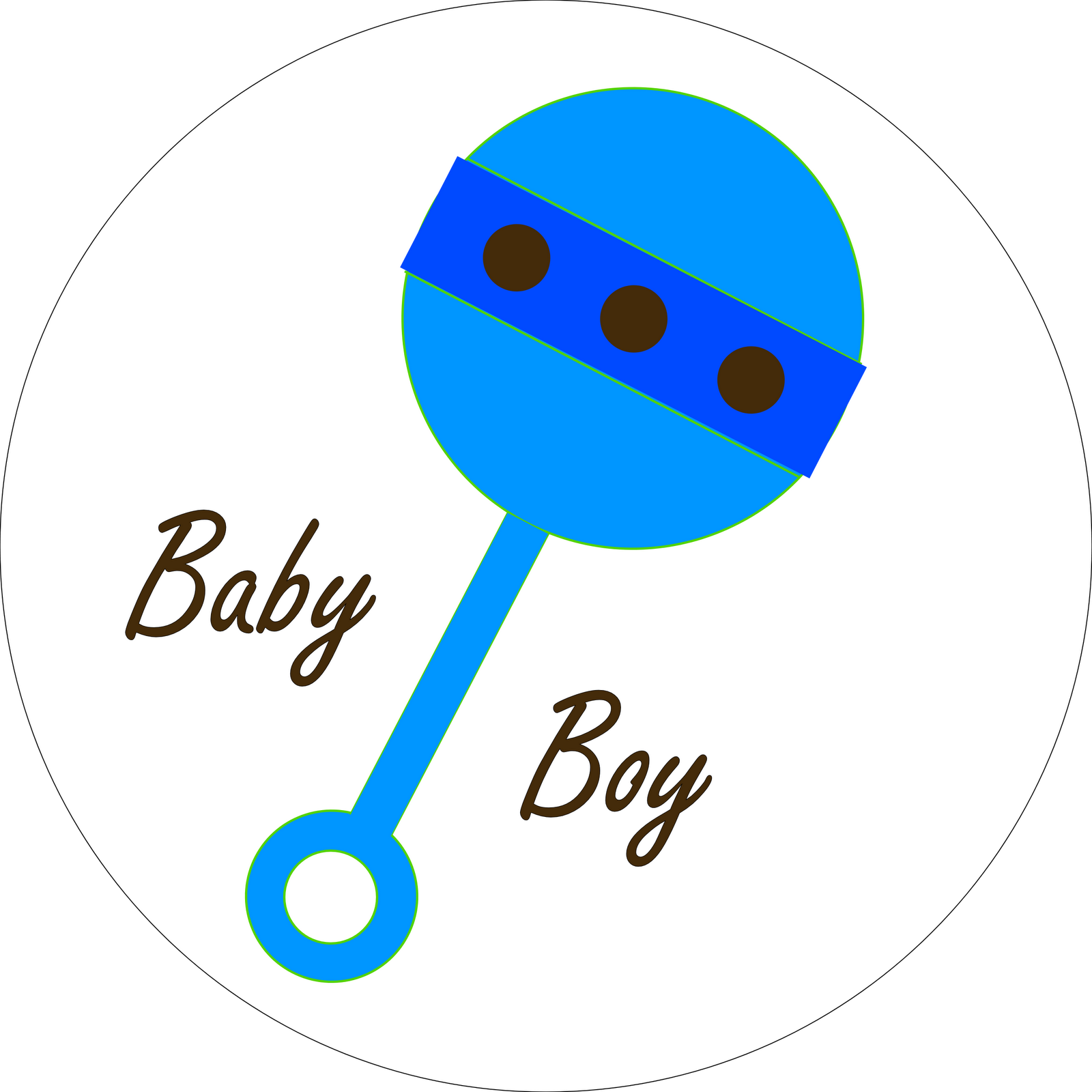 free clipart baby rattle - photo #31