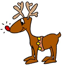 Free Clipart Ne... Free Clip Art Santa And Reindeer