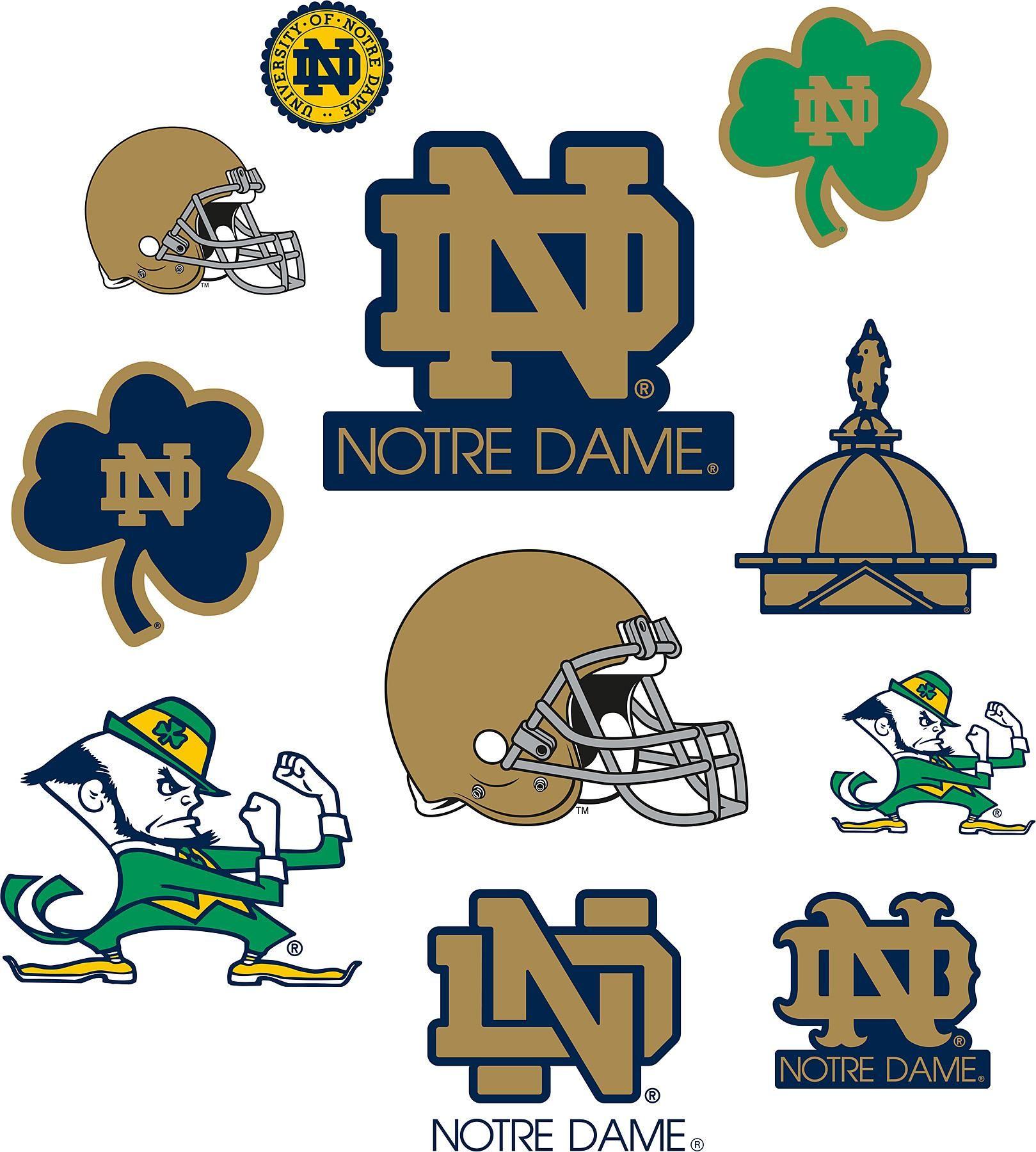 Notre Dame Logo Art - ClipArt Best