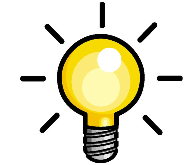 lightbulb gif clipart best clipartbest