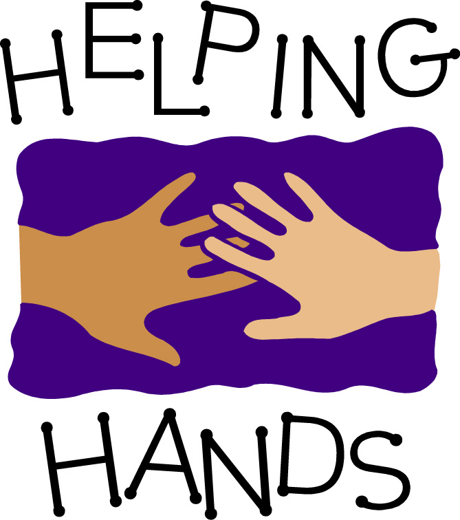 Helping hands clipart images