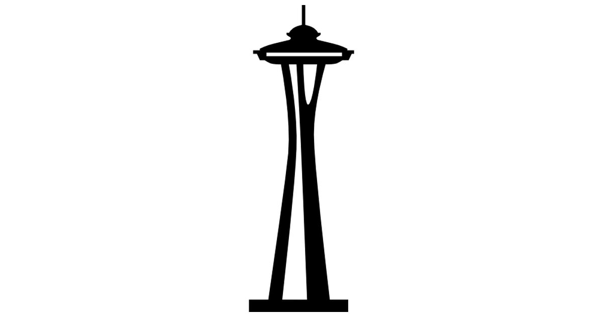clipart of space needle - photo #4