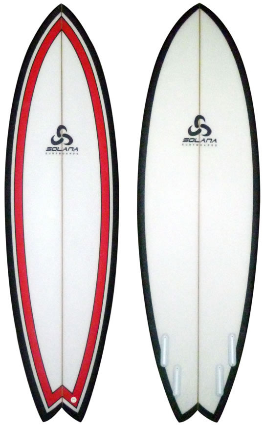 outline of a surfboard