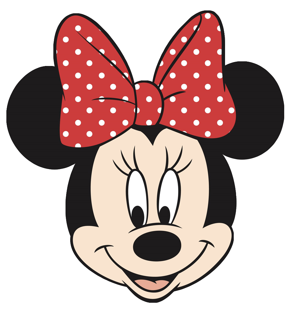 Minnie Mouse Head Cut Out Clipart Best