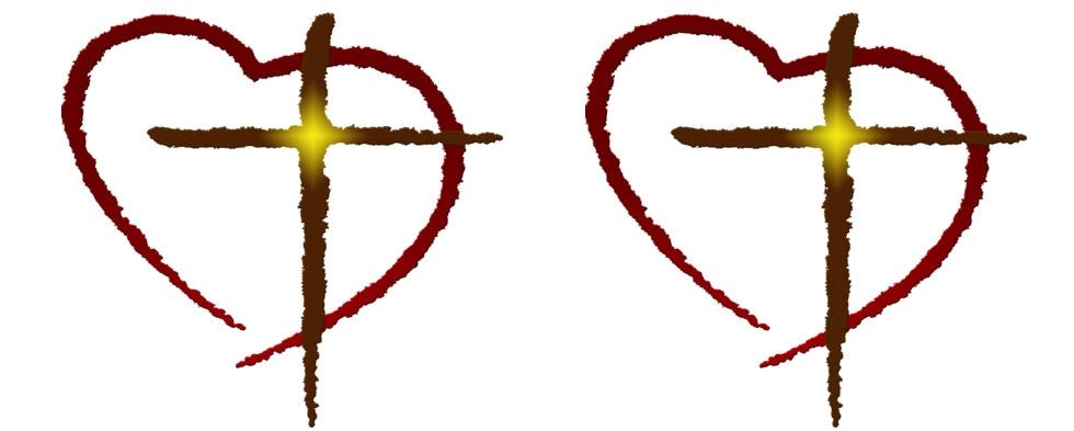 heart with cross clip art clipart best