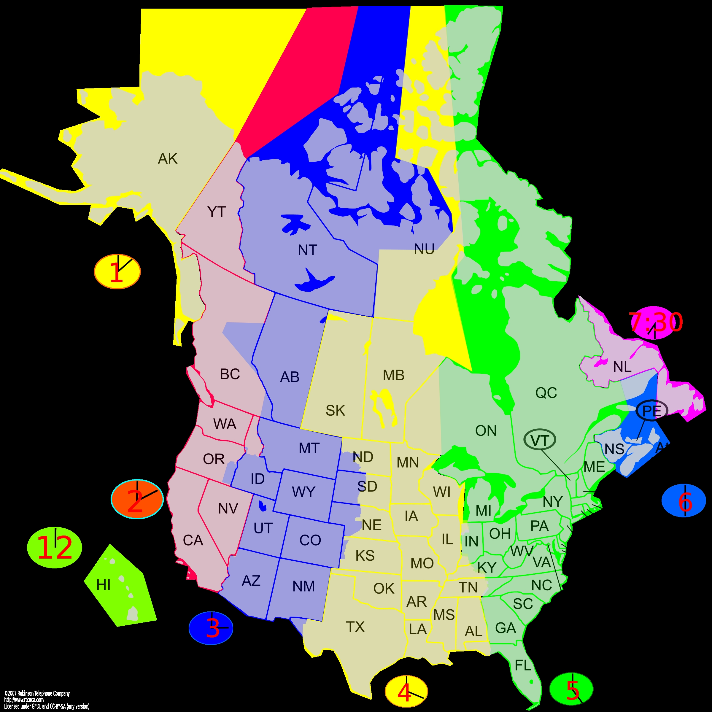 Map Clipart Usa Canada Time Zone Map canada state map State Map Of ...