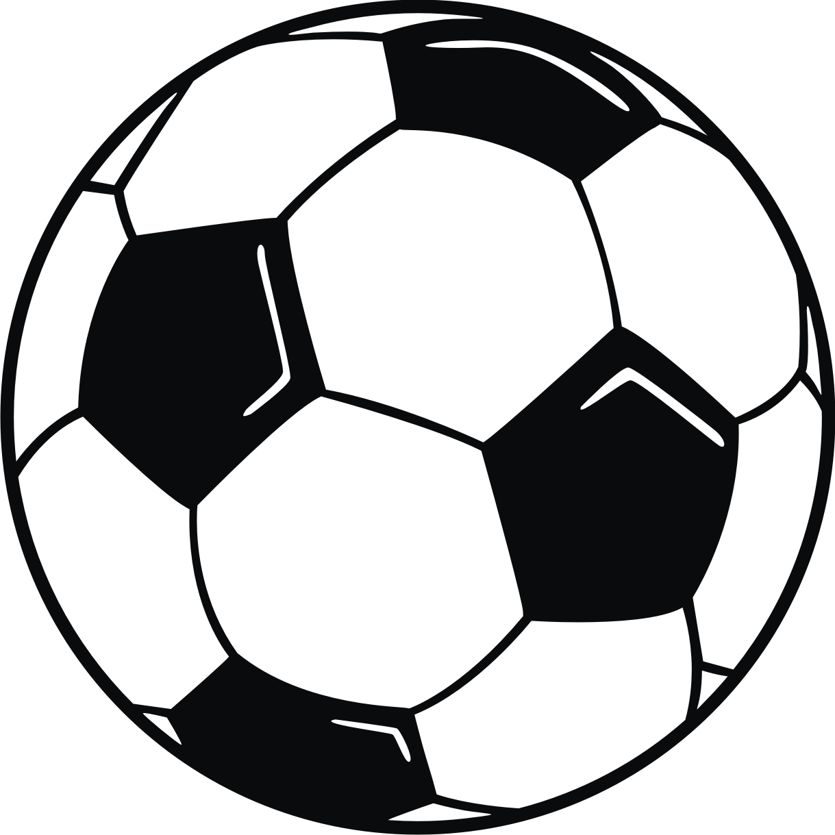 Clip Art Clipart Soccer Ball printable picture of a soccer ball clipart best free clip art ball