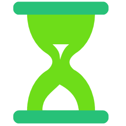 Hourglass Icon   Flat Style Iconset   FlatIconMaker ...
