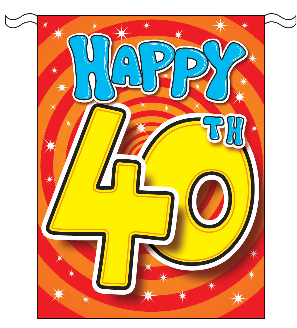 clipart 40th anniversary-#14