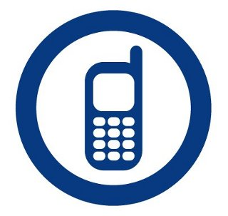 mobile phone symbol Gallery