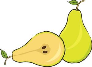 Pear Cartoon - ClipArt Best