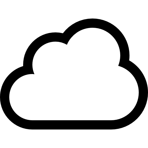 Cloud Outline Image - ClipArt Best