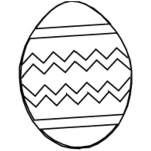 Free Easter Egg Outline Template - ClipArt Best