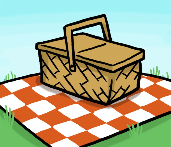 Picnic Basket Pictures - ClipArt Best