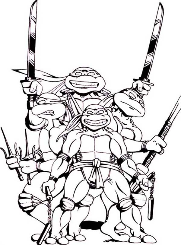 ninja turtle coloring pages splinter - photo #34
