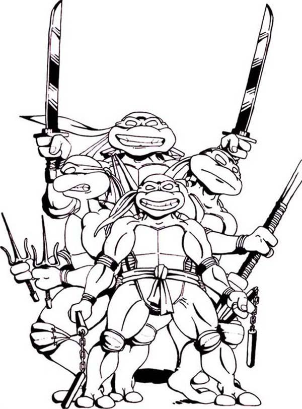 free coloring pages ninja turtles - teenage mutant ninja turtles coloring face clipart best