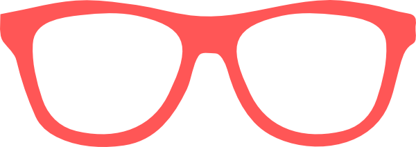Glasses Template Clipart Best