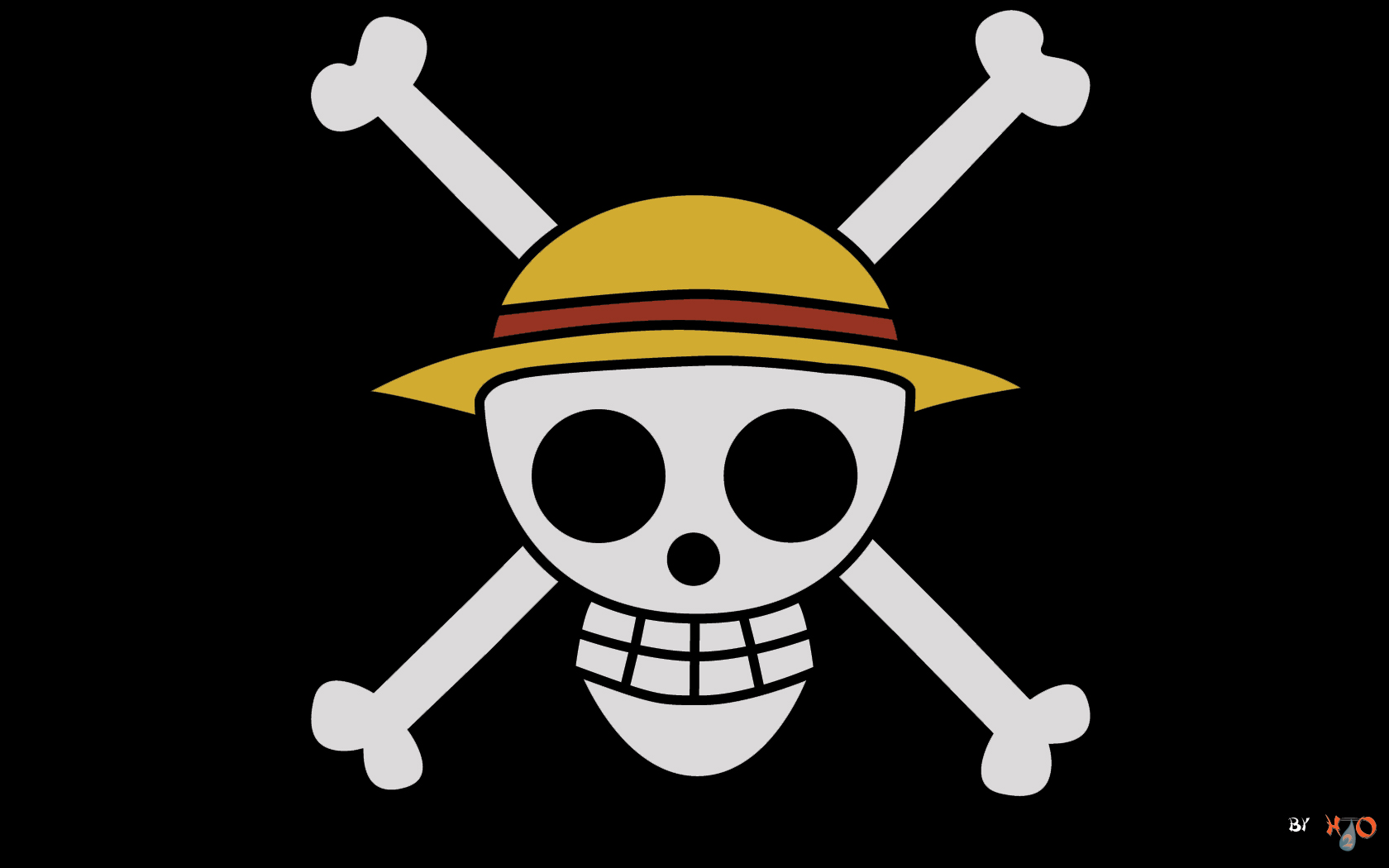 One Piece Logo - Flag Wallpaper for One Piece Anime ...