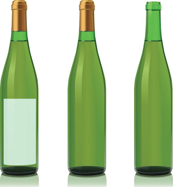 Illustrator Tutorial Vector Wine Bottle and Glass