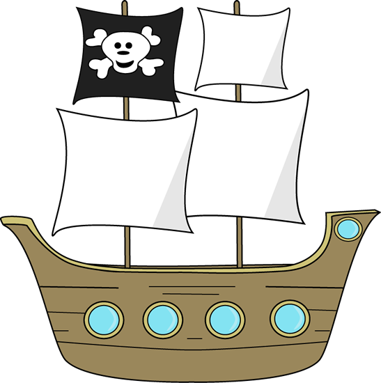 pirate ship clip art - Google Search | Pirates Theme | Pinterest ...
