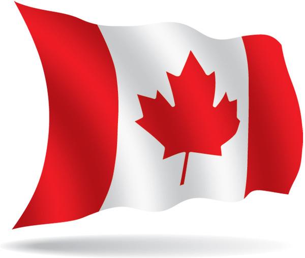 vector canadian flag clipart best