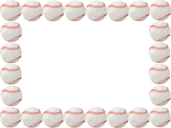 baseball borders clipart