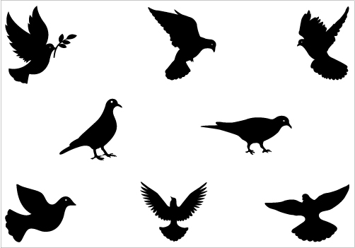 dove silhouette vector free cliparts that you can download to you ...