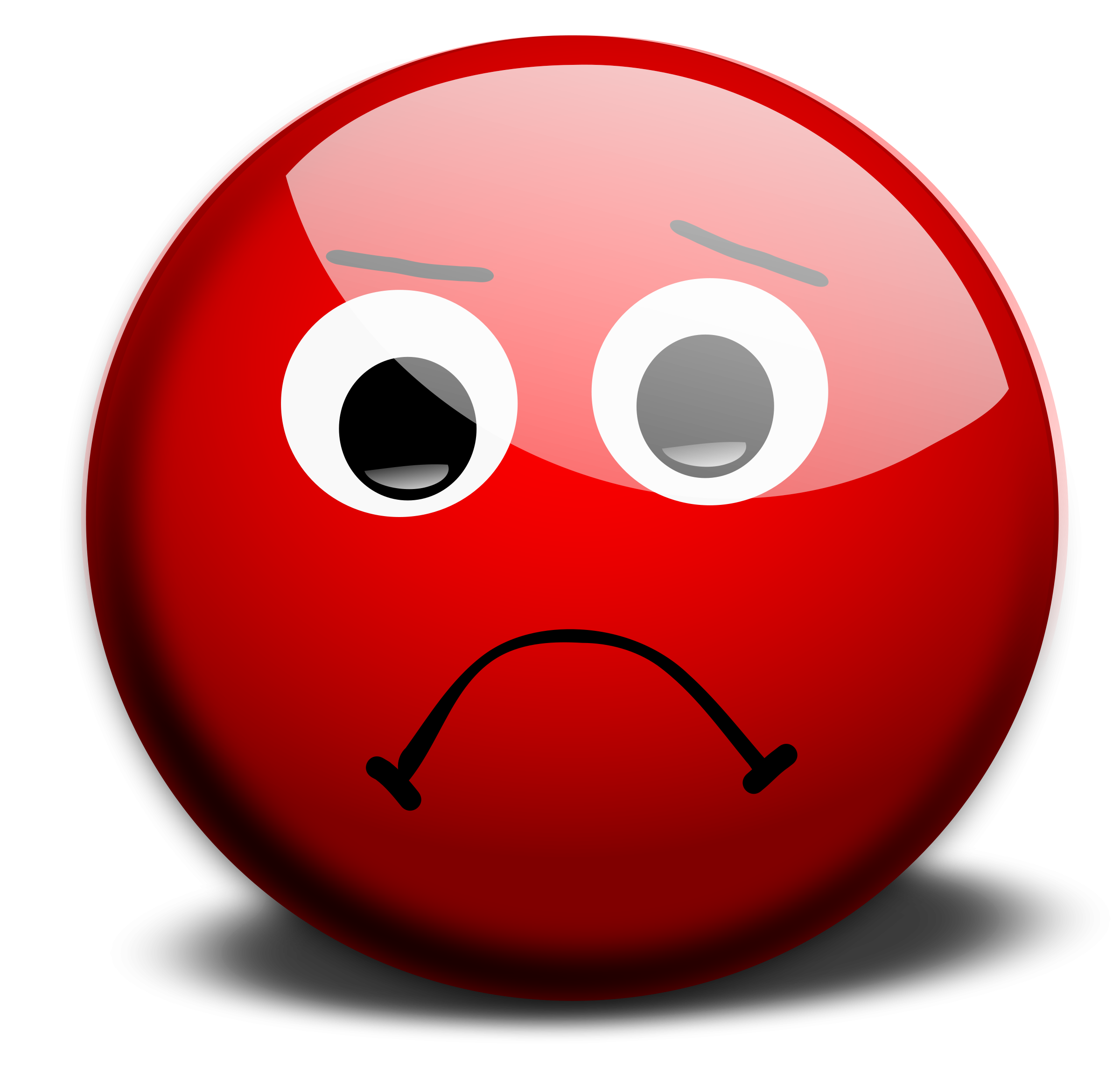 Sad Smiley Face Clip Art