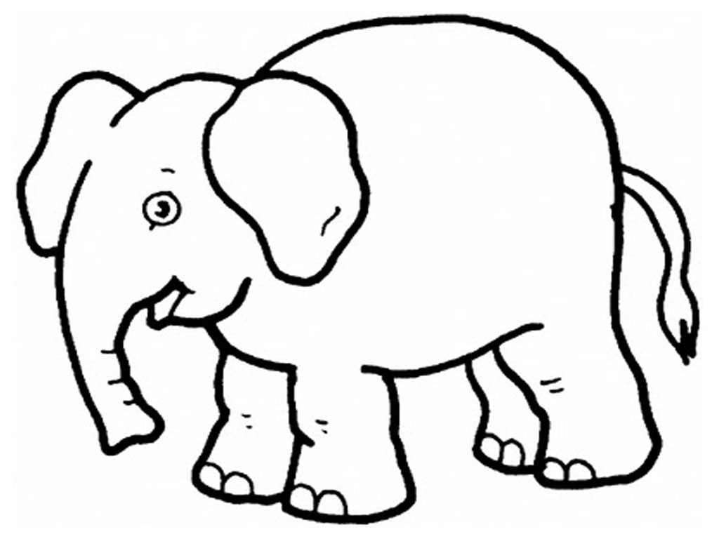 White Elephant Tracing - ClipArt Best