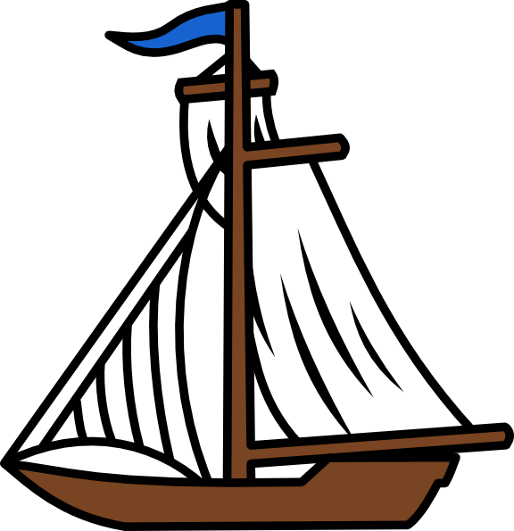 Sailing Boat Cartoon For gt Cartoon Sailing Boat