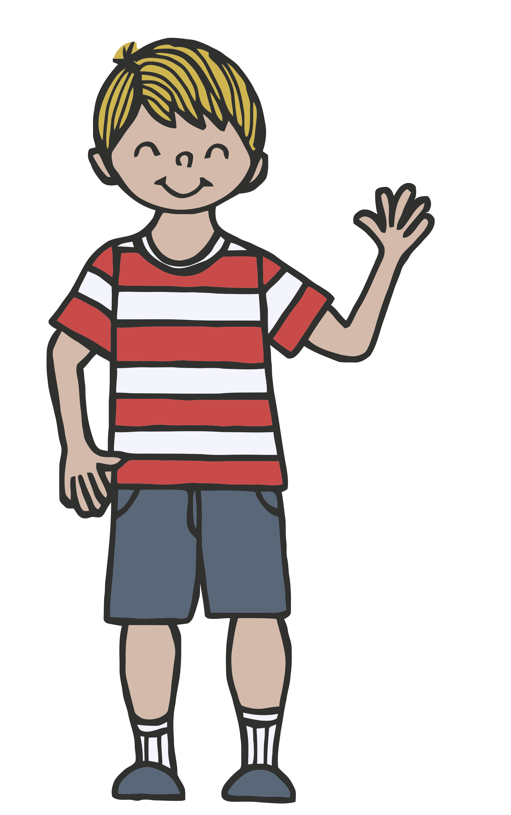 Clipart Images- Child Waving - ClipArt Best