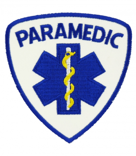 Paramedic Badge, Medical Patch
