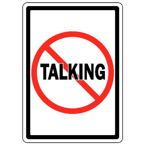 essay on not talking in class
