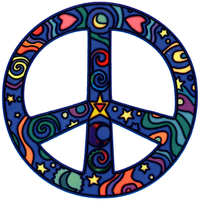 Peace Sign Window Stickers   Peace Resource Project ...