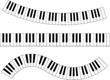 Wavy Piano Keys Clip Art - ClipArt Best
