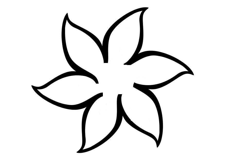 Spring Flower Template