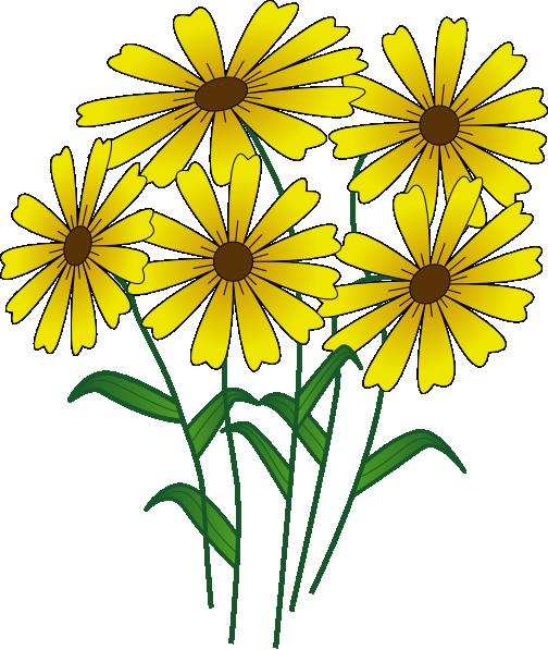Bunch Of Flowers Cartoon - ClipArt Best