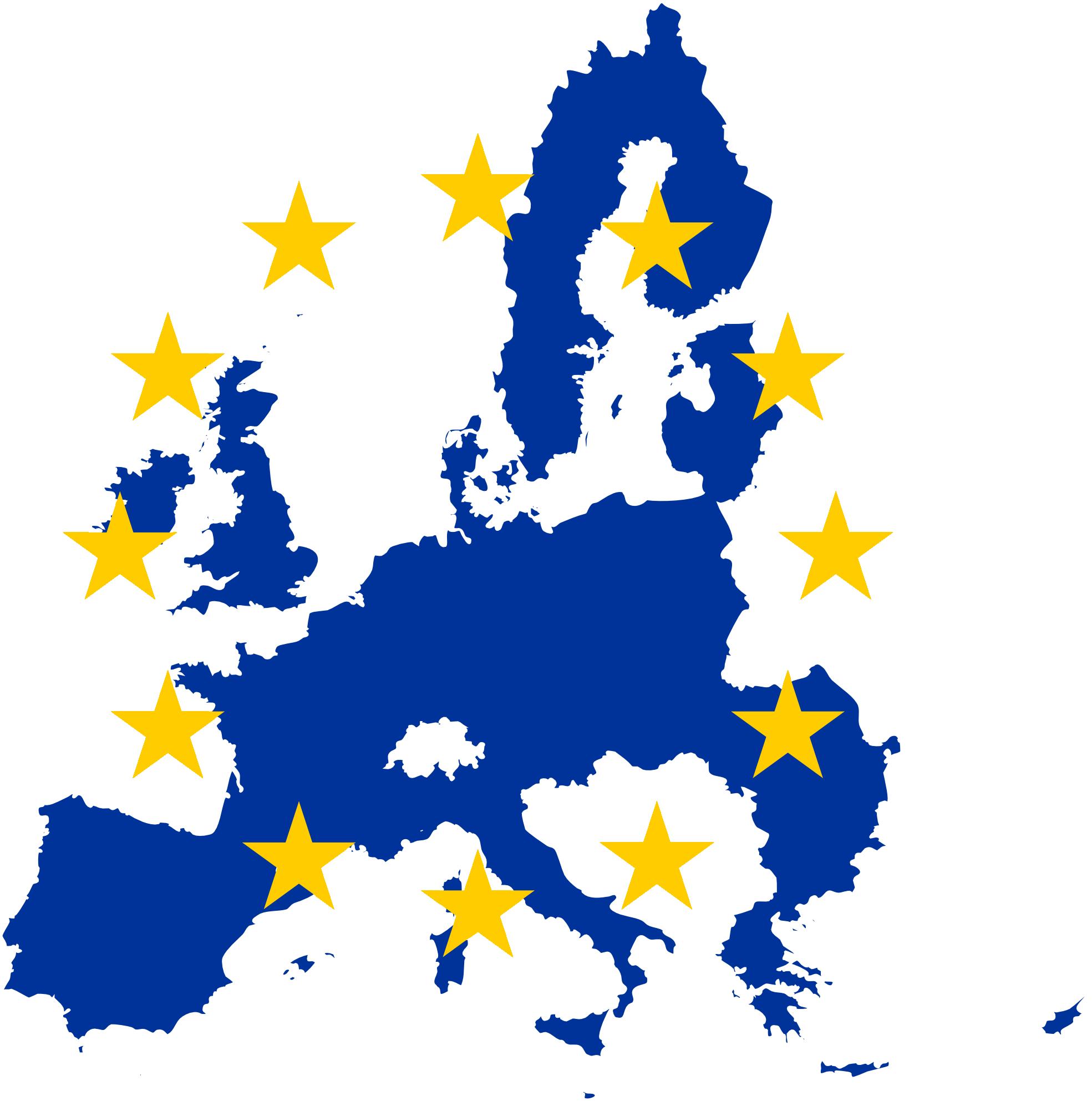 Europe Map Clip Art - ClipArt Best
