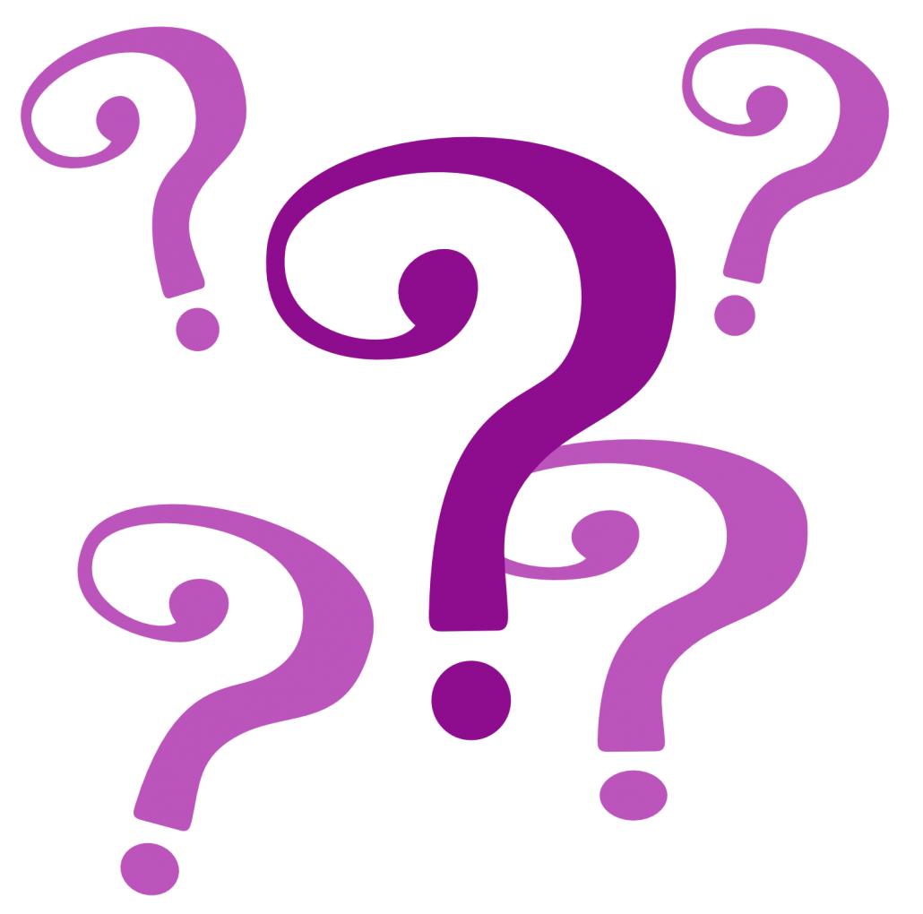 Question mark clipart nature