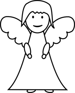 Black And White Pictures Of Angels - ClipArt Best