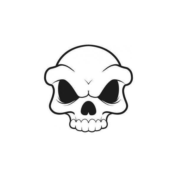 simple skull clipart best